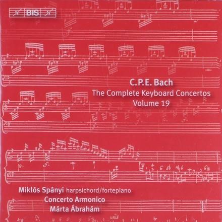 Keyboard concertos Volume 19. vol.19