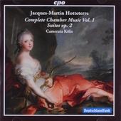 Prémière livre des pièces pour la flûte traversière, la flûte à bec, la viole, le clavecin avec la basse op.2. vol....
