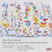 Flux flummoxed : New American music for violin and piano