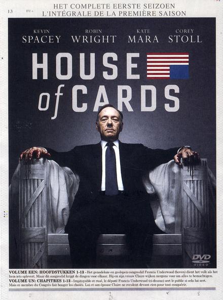 House of cards. Het complete eerste seizoen