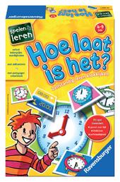 Hoe laat is het? : zelfstandig leren klokkijken