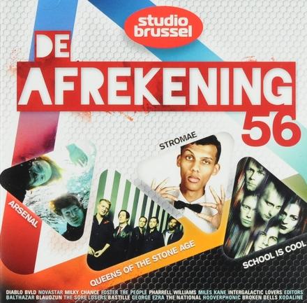 De afrekening van Studio Brussel. 56