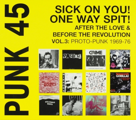 Sick on you! One way spit! : after the love & before the revolution : proto-punk 1970-1977