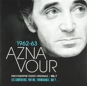 Discographie studio originale 1962-63. vol.7