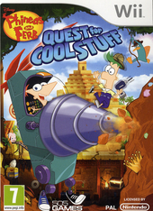 Phineas and Ferb. Quest for cool stuff