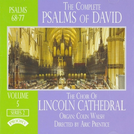 The complete psalms of David : psalms 68-77. Vol. 5