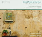 Sacred music for the poor : at Santa Maria in Vallicella, Rome : laude, canzone & sinfonie