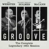 Groove : The complete legendary 1961 session