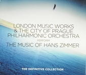 London Music Works & the City of Prague Philharmonic Orchestra perform the music of Hans Zimmer : the definitive co...