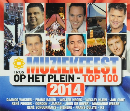 Tros muziekfeest op het plein : Top 100 2014
