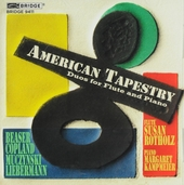American tapestry : Duos for flute and piano