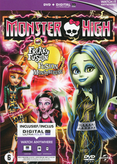 Monster high : freaky fusion