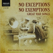 No exceptions, no exemptions : great war songs
