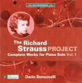 The Richard Strauss project. Vol. 1