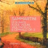 12 sonate per due violini, violoncello e cembalo op. 3