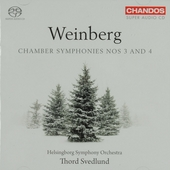 Chamber symphonies nos 3 and 4