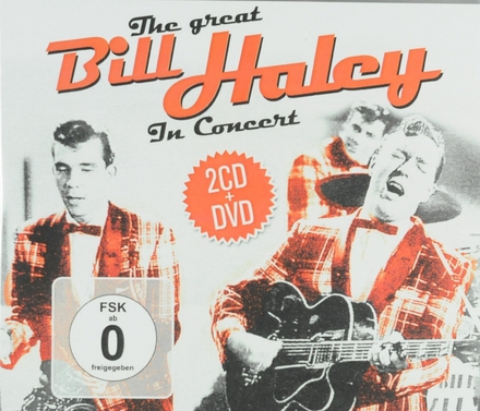 The great Bill Haley in concert