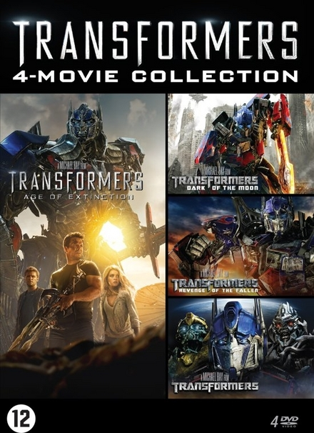 Transformers 4-movie collection