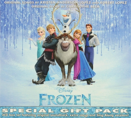 Frozen : original soundtrack, extra songs and sing-along versions