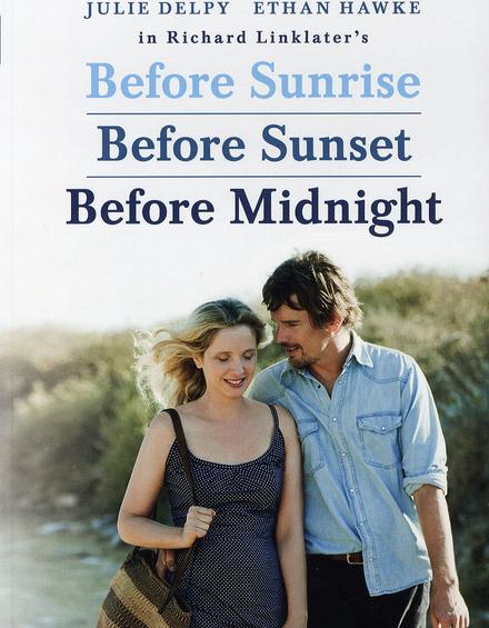Before sunrise ; Before sunset ; Before midnight