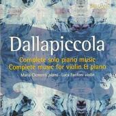 Complete music for solo piano & violin and piano