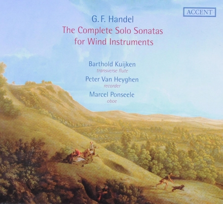 The complete solo sonatas for wind instruments