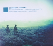 Schubert, Brahms : the complete duos, phantasie