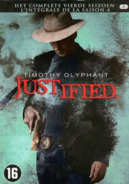 Justified. Het complete vierde seizoen