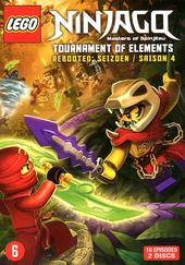 Lego Ninjago : masters of Spinjitzu. Seizoen 4, Tournament of elements