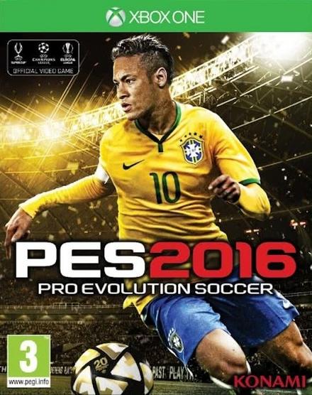 PES 2016 : pro evolution soccer