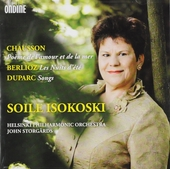 Chausson ; Berlioz ; Duparc : orchestral songs