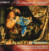 Secular cantatas. Vol. 5, Birthday cantatas