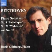 Piano sonatas nos. 8, 21 and 32
