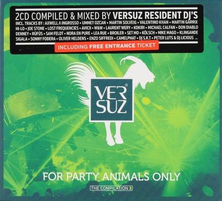Versuz : the compilation. Vol. 3, For party animals only
