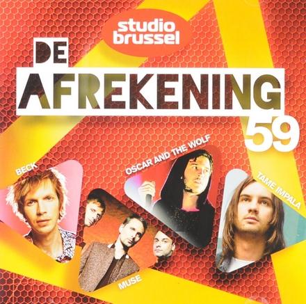 De afrekening van Studio Brussel. 59
