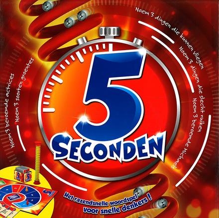 5 seconden : het razendsnelle woordspel voor snelle denkers!
