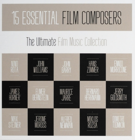 15 essential film composers : the ultimate film music collection