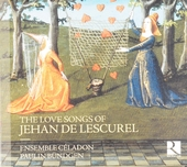 The love songs of Jehan de Lescurel : complete love songs book