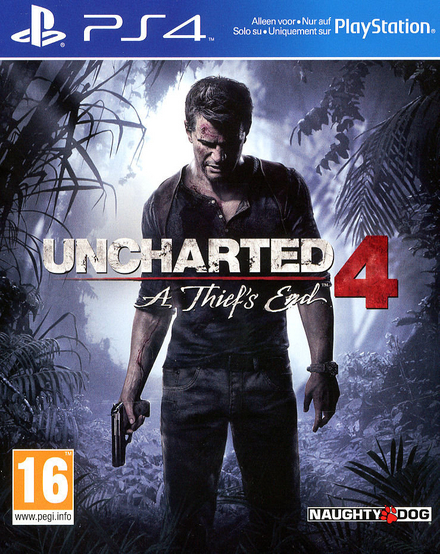 Uncharted 4. A thief's end