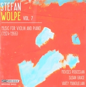 Music for violin and piano (1924-1966). vol.7