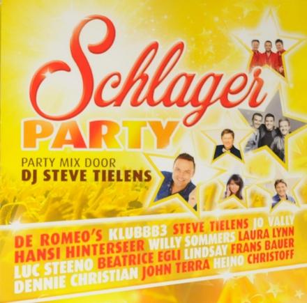 Schlager party : party mix door DJ Steve Tielens