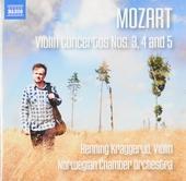 Violin concertos nos.3, 4 and 5
