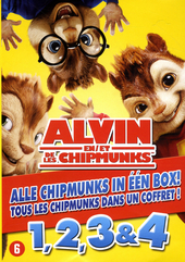 Alvin en de Chipmunks 1, 2, 3 & 4
