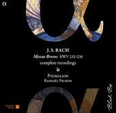 Missae breves BWV 232-236 : complete recordings