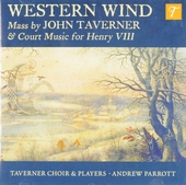 Western wind : mass by John Taverner and court music for Henry VIII