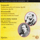 The romantic violin concerto. 20