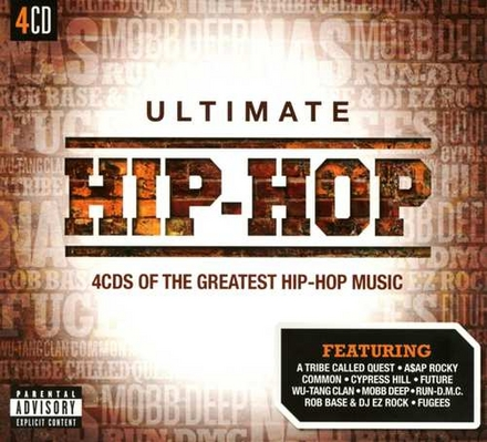 Ultimate Hip-Hop : 4 cd's of the greatest hip-hop music