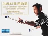 Classics on marimba
