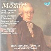 String quintets K593, K614 & K515c