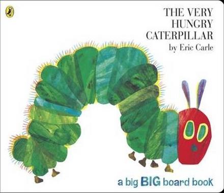 The very hungry caterpillar : a big big board book
